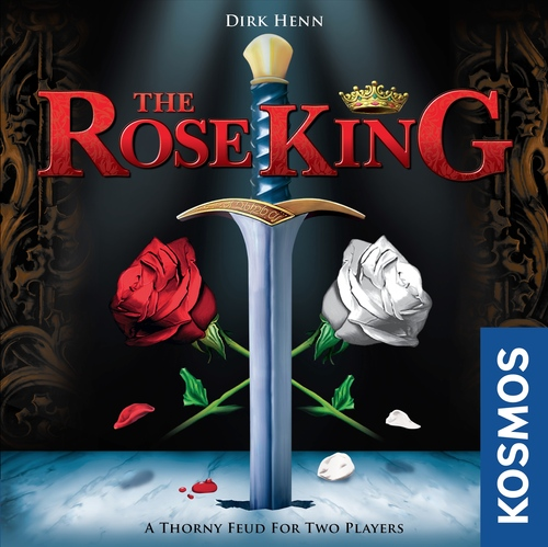 Rose King: 2 Players, Ages 10+, Average Play Time = 30 Minutes
