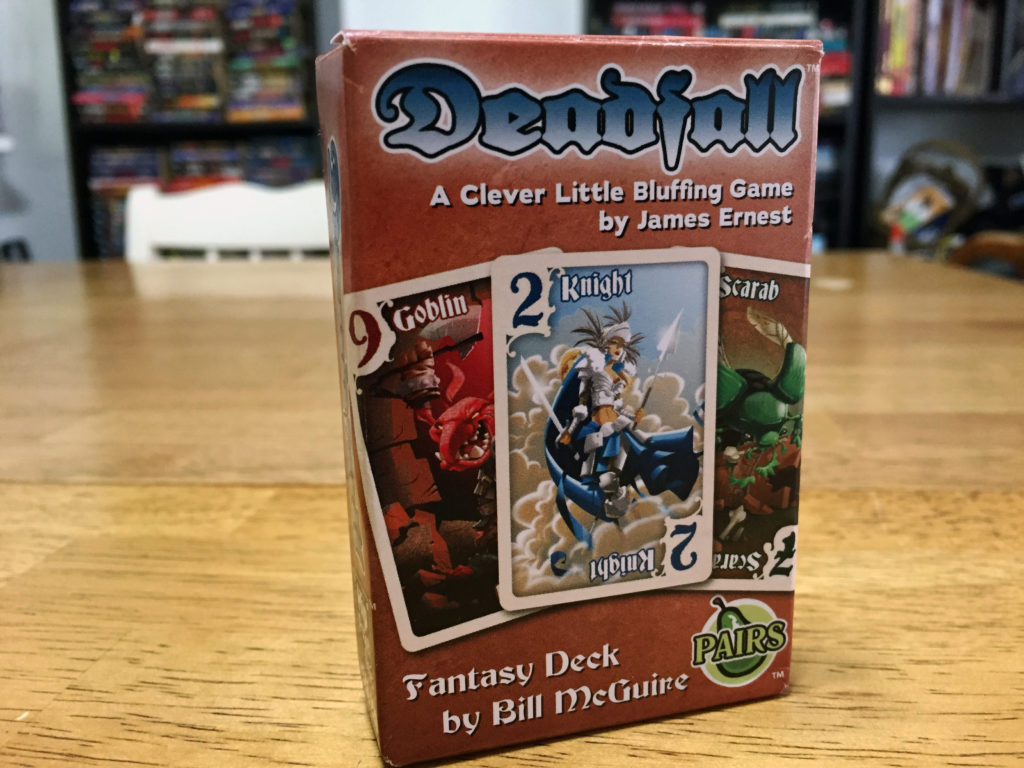 Deadfall: 2-7 Players, Ages 8+, Average Play Time = 30-45 Minutes