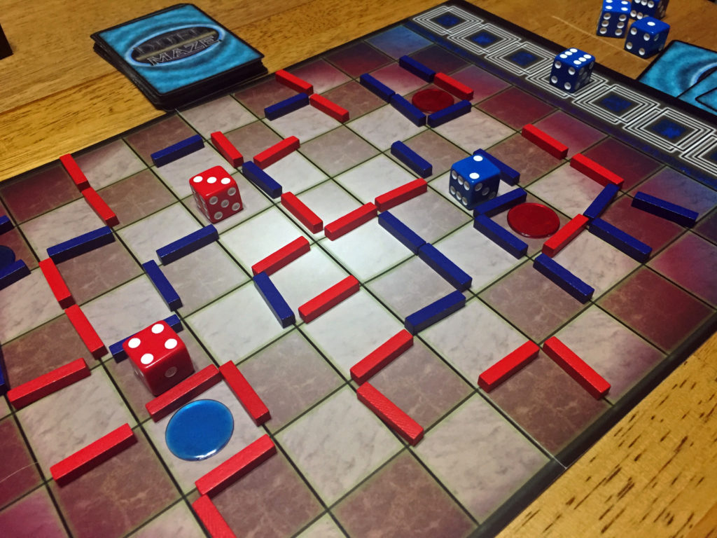 Duel Maze: 2 Players, Ages 12+, Average Play Time = 30-60 Minutes