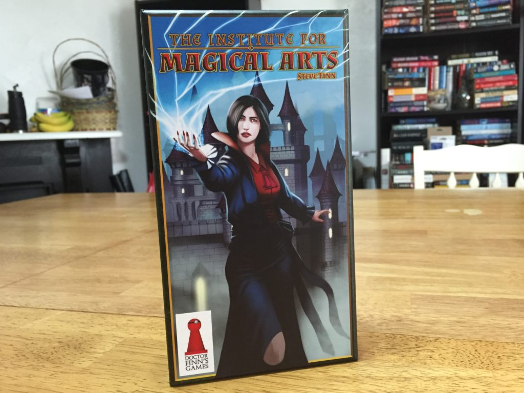 The Institute for Magical Arts: 2 Players, Ages 14+, Average Play Time = 45 Minutes