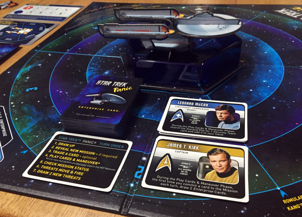 Star Trek Panic: 1-6 Players, Ages 13+, Average Play Time = 90 Minutes