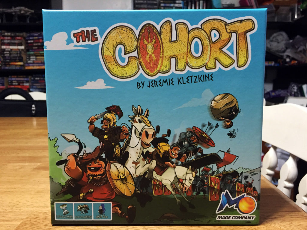 The Cohort: 2-6 Players, Ages 8+, Average Play Time = 15-30 Minutes