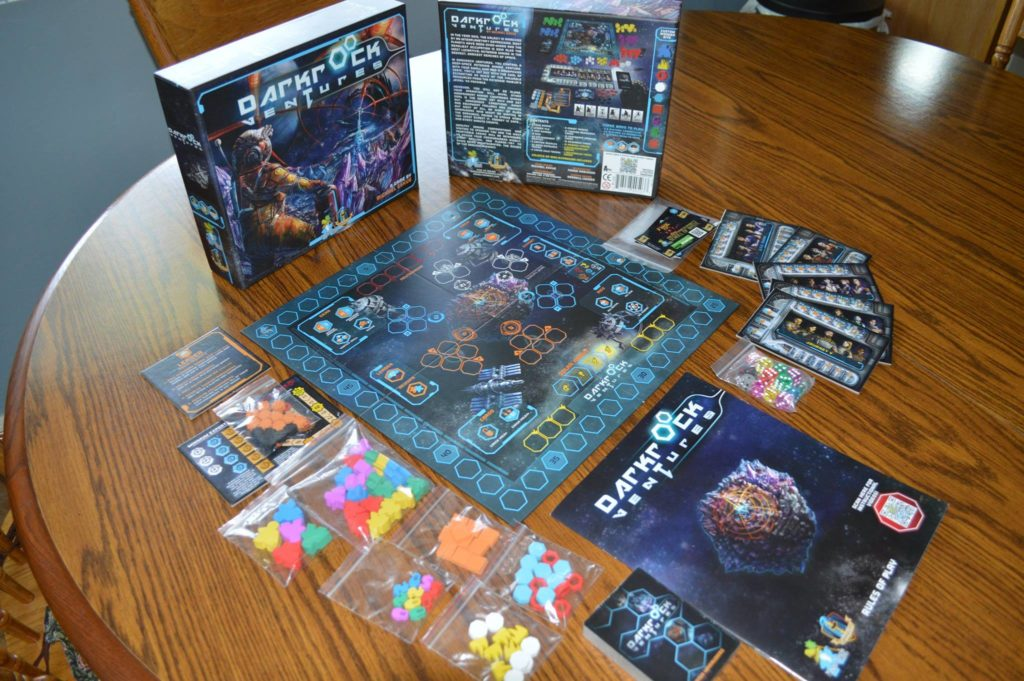 Darkrock Ventures: 1-5 Players, Ages 14+, Average Play Time = 30-45 Minutes